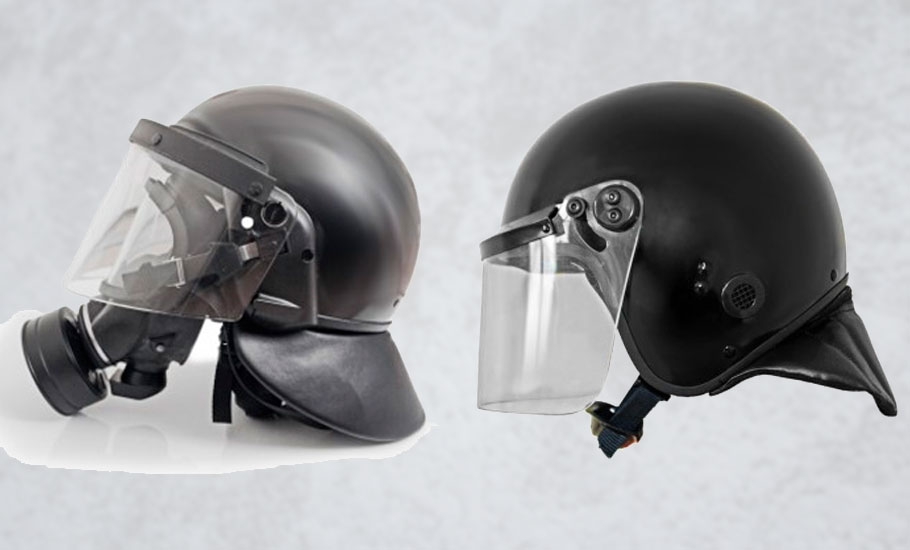 Shockproof helmets