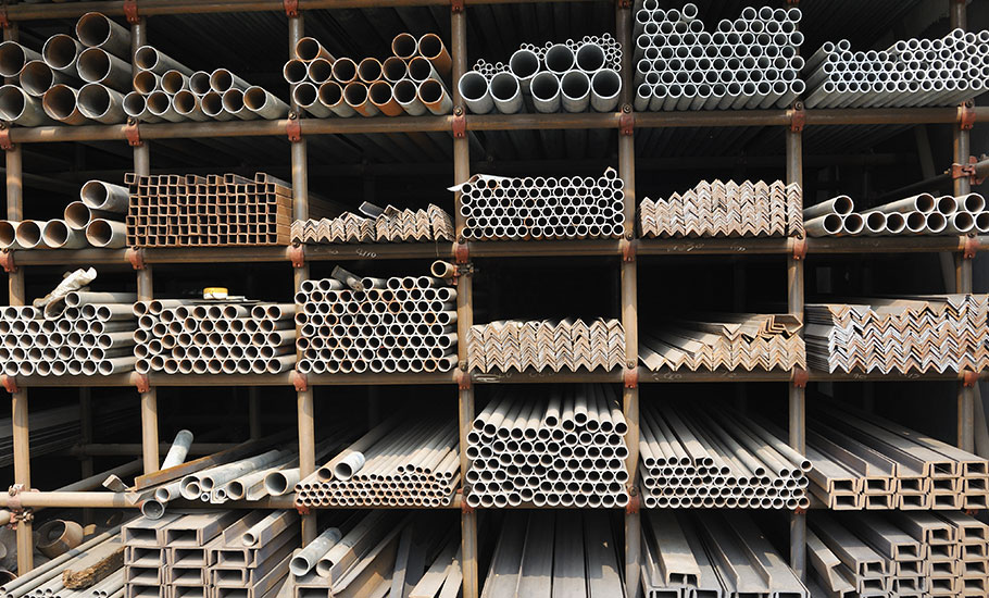 Supply of ferrous, non-ferrous metals and metal products